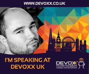 Devoxx UK 2017 speaker button - Sanne Grinovero
